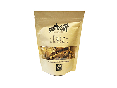 FairTaste Fair Trade Organic Sun-Dried Pineapple